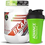 Advance Nutratech Combo BCAA 2:1:1 200gm 0.44lb Fruit Punch Amino With Shaker