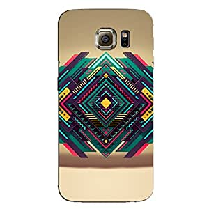 ABSTRACT TRIANGLE ART BACK COVER SAMSUNG GALAXY S6
