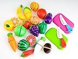(フリースタイル)free style 切れる 野菜 果物 20セット 調理 セット 包丁 まな板 付き おままごと 子供 おもちゃ 育児 知育 2歳 3歳 4歳 キッチン 料理