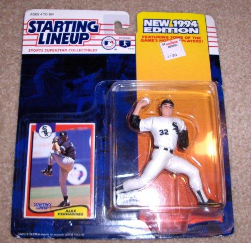 1994 Alex Fernandez MLB Baseball Starting Lineup
