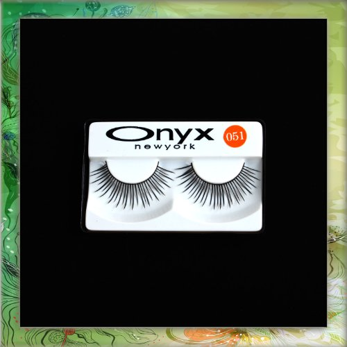 1 Pair Long Black False Fake Eyelashes Eye Lashes Makeup #051 B0300