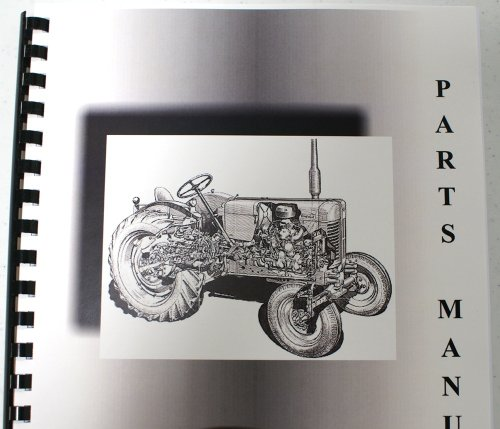 John Deere 49 Snow Thrower OEM Parts Manual