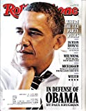 Rolling Stone Magazine #1220 October 23, 2014 In Defense Of Obama
