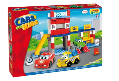 COSTRUZIONE Unico Cars For Kids-Garage Service 108pz 8563