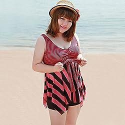 Krivani Women's Beach Wear (BW112_Multi-colored_XXL)