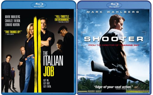 Italian Job & Shooter [Blu-ray] (Italian Job Blu Ray compare prices)