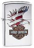 Zippo Harley-Davidson American Flag Pocket Lighter