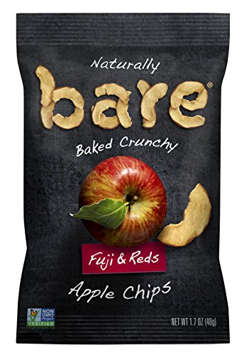 Bare Natural Apple Chips, Fuji & Reds, Gluten Free + Baked, 1.7 Ounce (Pack of 10) (Bare Fruit Fuji Apple Chips compare prices)