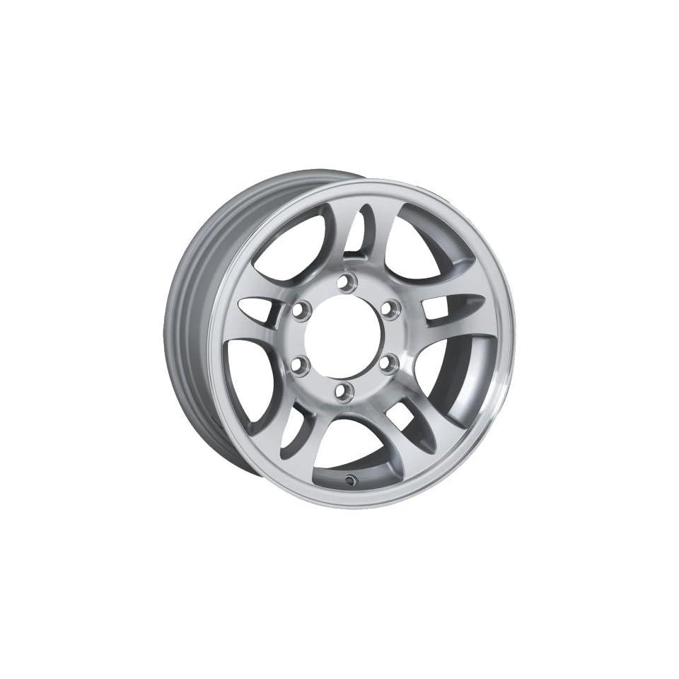 14x5.5 Sendel T03 Trailer Silver Wheel Rim 5x114.3 5x4.5 0mm Offset 81.03mm Hub Bore Automotive