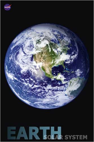 ポスター 太陽系 - 地球 Solar System - Earth