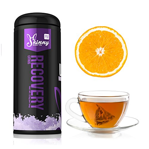 Pm Recovery High Antioxidant Tea Healthy Skin Help Metabolism And Digestion - Citrus - 14 Day Supply