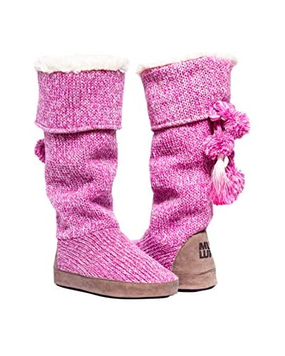 MUK LUKS Women's Winona Candy Coated Slipper Boot