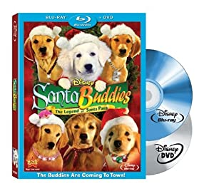 Santa Buddies Two-disc Blu-raydvd Combo from Walt Disney Studios Home Entertainment