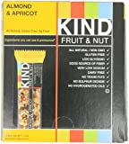 KIND Fruit & Nut, Almond & Apricot, All Natural, Gluten Free Bars ,1.4 oz (Pack of 12)