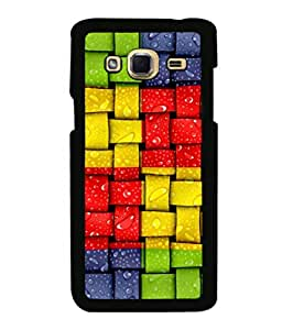 printtech Colored Patterns Back Case Cover for Samsung Galaxy J3 Pro
