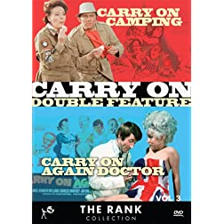 Carry On Double Feature Vol 3: Carry On Camping &amp; Carry On Again Doctor