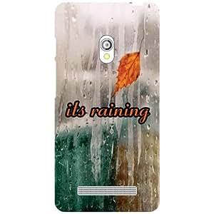 Asus Zenfone 5 A501CG Back Cover - Its Raining Designer Cases