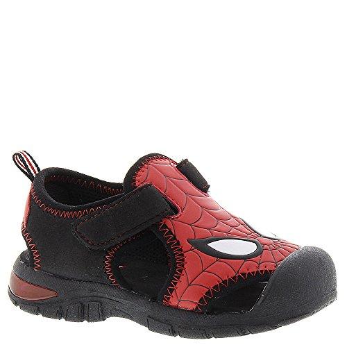 Marvel Spiderman SPS610 Boys' Infant-Toddler Sandal 8 M US Toddler Red