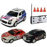 RC ferngesteuertes mini Auto Racing Car Fahrzeug Modell, Top-Speed, Akku integriert, Fernsteuerung mit Ladefunktion inkl. Zubehör