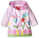Wippette Baby Girls Lovely Garden Rainwear, Pink, 18 Months