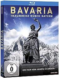 Bavaria - Traumreise durch Bayern [Blu-ray] (limitiert in hochwertiger O-Card)