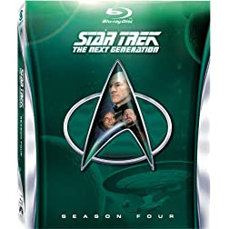 Star Trek: The Next Generation - Season Four [Blu-ray]