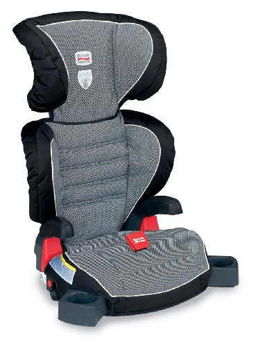 Review Britax Parkway SGL Booster Seat, Cloudburst