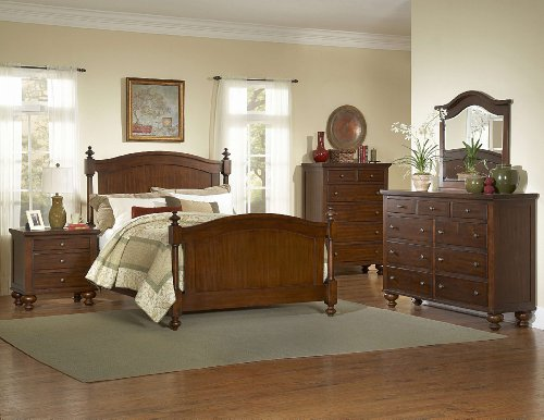Aris 4 Pc California King Bedroom Set By Homelegance In Brown Cherry front-616105