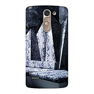 Delighted Marbal Monument Back Case Cover for LG G3 Stylus