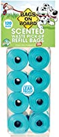 Bags On Board Scented Refill Pack 8 Rolls 120bag