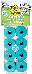 Bags on Board Scented Bag Refill Pack, 120 Bags
