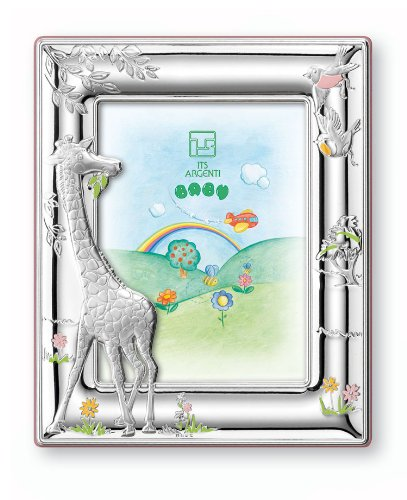 Silver Touch USA Sterling Silver Giraffe Picture Frame - 1