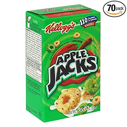 Apple Jacks Cereal Ingredients Apple Jacks Cereal Individuals