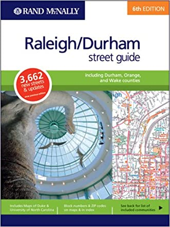 Rand McNally Street Guide Raleigh/Durham (Rand McNally Raleigh/Durham Street Guide)