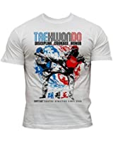 Dirty Ray Taekwondo t-shirt homme DT16