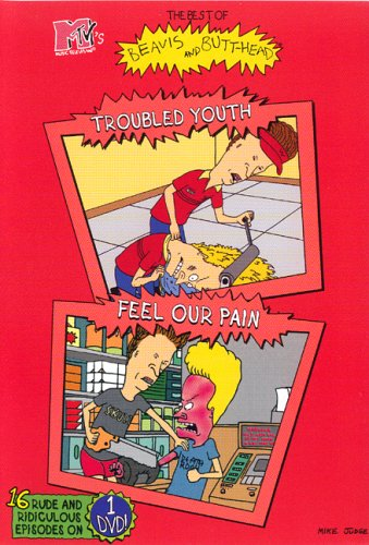 BEAVIS & BUTTHEAD - TROUBLED YOUTH FEEL OUR PAIN - DVD