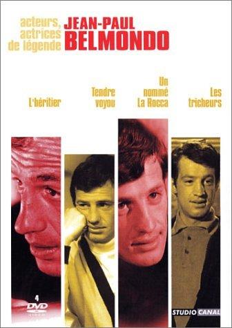 Jean-Paul Belmondo - Coffret - L'héritier + Tendre Voyou + Un Nommé La Rocca + Les Tricheurs