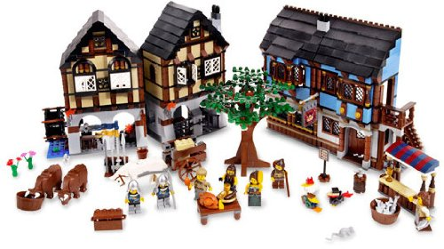 LEGO Castle Medieval Market Village (10193) Amazon.com
