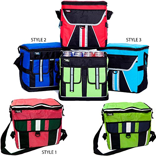Deluxe 30 Can Cooler Bag Picnic Beer Beach Insulated Large Box Bottle Holder New front-786260