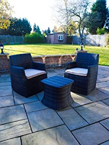 Utah Outdoor Patio Furniture: Table and Chair Set from Whitaker Cane Furniture