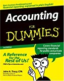 Accounting For Dummies (For Dummies (Lifestyles Paperback)) (0764578367) by John A. Tracy CPA
