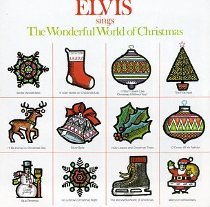 Elvis Sings The Wonderful World of Christmas artwork