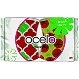 ocelo Heavy Duty Scrub Sponges, 3.7-Inches x 2.6-Inches x 4/5-Inches, 2-Count