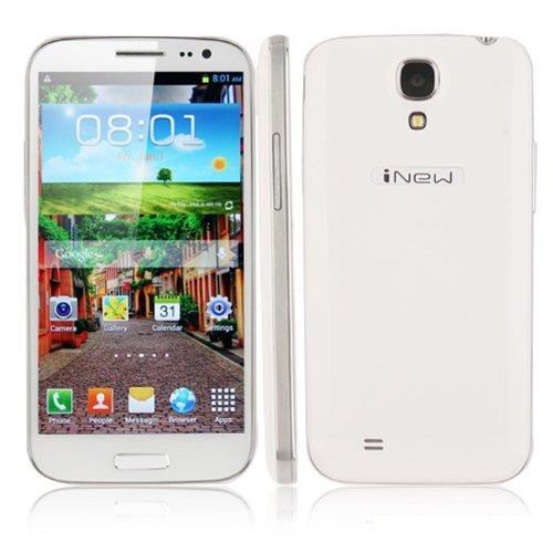 Inew Phone 5.0 Inch Hd(1280*720) 1.2 Ghz Android 4.2 Mtk6589 Quad Core Ram 2Gb +32Gb Rom 3G Wifi 8.0 Mp Camera Bar Wcdma White (1Gb/8Gb)