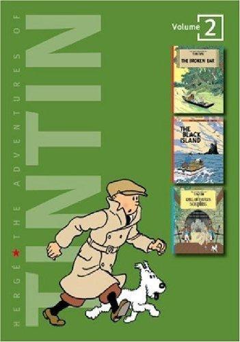 The Adventures of Tintin: Volume 2 (Tintin Three-in-one)
