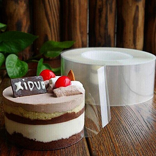Aliciashouse DIY Gâteau mousse Transparent Membrane Baking Environnement Bord Ruban Perimeter