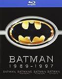 Batman 1989-1997 (Batman / Batmans Rückkehr / Batman Forever / Batman & Robin) [Blu-ray] [4 Blu-rays]