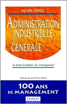 ADMINISTRATION INDUSTRIELLE ET GENERALE. Le texte