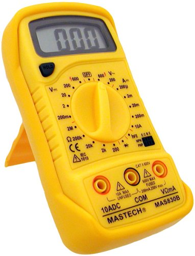 Mastech 19-Range Digital Multimeter, Mas830B