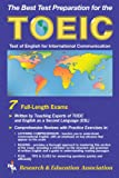 img - for TOEIC (REA) - The Best Test Prep for the TOEIC (Test Preps) book / textbook / text book
